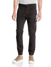 NEW LEVI'S MEN BANDED CARGO CHINO JOGGER STRETCH PANTS SLIM FIT BLACK 246750000