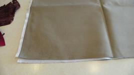Taupe Microfiber Velvet Upholstery Fabric Remnant  F1127 - $39.95