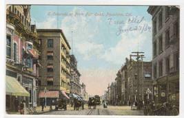 E Colorado Street Pasadena California 1909 postcard - $6.44