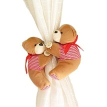George Jimmy 1 Pair of Cartoon Bear Curtain Hold Backs Curtain Tieback for Kids  - $20.94