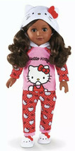 """My Life As Hello Kitty 18"""" Poseable Doll African American Htf New Dark Hair - $98.99"""