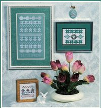 I Love Spring Hardanger Embroidery Seasonal Sampler Rosalyn Watnemo Book - $12.99