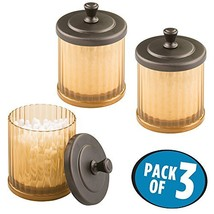 mDesign Bathroom Organizer Canister Apothecary - $19.99
