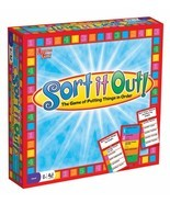 SORT IT OUT! FAMILY BOARD GAME BY UNIVERSITY GAMES 01026 - NEW SEALED BO... - €21,16 EUR