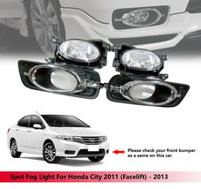 Spot Fog Light Lamp Kit For Honda City GM2 2011 (Facelift) - 2013 - $96.62