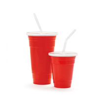 Reusable Party Tumbler Red 32 Oz. 4.6 Inch Reusable Tumbler 7.7 Inch tal... - $134.40