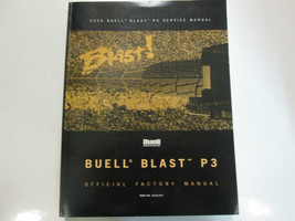 2000 Buell Blast P3 Service Repair Workshop Shop Manual FACTORY OEM - $188.08