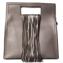 Handbag Republic Womens Designer Vegan Leather Top Handle Purse Fringe ... - $76.68