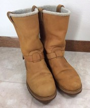 Timberland Nellie Pull-on Waterproof Boots Women's 11M Wheat Leather - $76.66