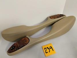 Jaguar XJ8 1998 Interior Pair Rear Arm Rests Door Handle Leather Used OEM #239 - $98.01