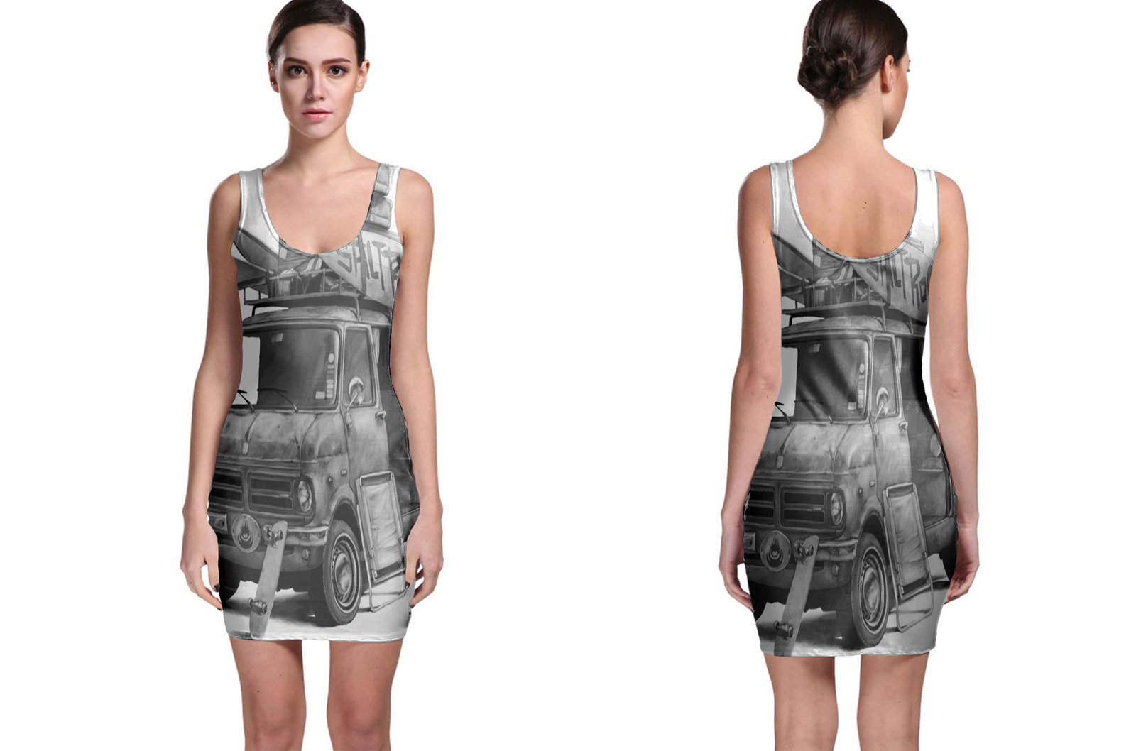 Van 1 saltrock bodycon dress
