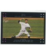 UBALDO JIMENEZ RC 2007 Topps #296 Colorado Rockies Baseball Sports Cards - $1.99