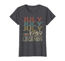 Amazing Shirt -  JULY Retro Classic Vintage 1969 Awesome 49 Years Old Being Wowe - $19.95+