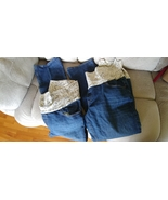 Old Navy Womens Maternity Blue Jeans Stretch Pants with Roll Top XL 17897 - $17.99