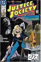 Justice Society of America Comic Book Mini-Series #2 DC 1991 NEAR MINT U... - $2.99