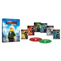 LEGO Ninjago Movie Target Excl lenticular cover 6 Cards (Blu-ray+DVD+Digital)