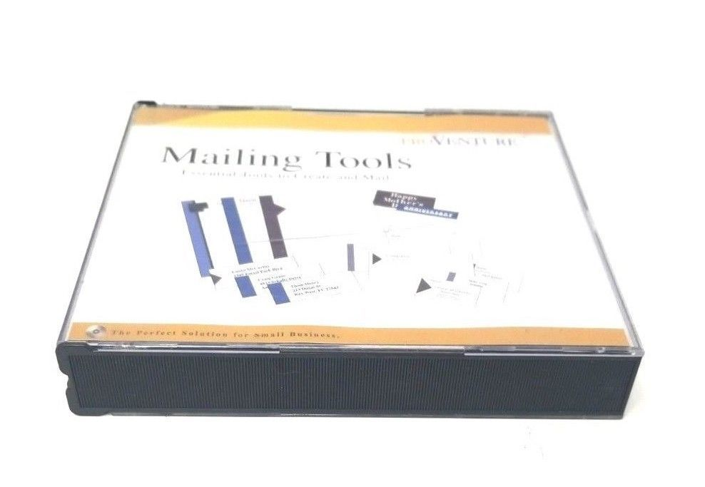 Pro Venture Mailing Tools Windows 95/98 CD-Rom Small Business Professional Tools image 5