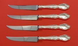 "Melrose by Gorham Sterling Silver Steak Knife Set 4pc HHWS  Custom Made 8 1/2"" - $247.10"