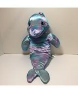 "Blue Purple Dolphin Puppet Plush Stuffed Animal Build a Bear 19"" - $12.59"