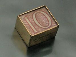 Vintage 9ct Gold Ten Bob Note Charm, Folded 10 Shillings, London 1970 Ha... - $84.10