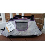 Champion Match Point Duffle Bag Purple Black Gray High Performance Athle... - $13.00