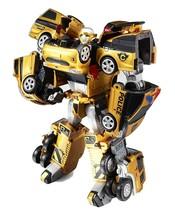 Tobot V Gold Quatran Toy Robot Transforming Transformation Action Figure image 1