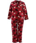 Beauty Sleep BedHead Cotton Flannel PJ Set Cats & amp; Dogs XS NEW A343614 - $36.61