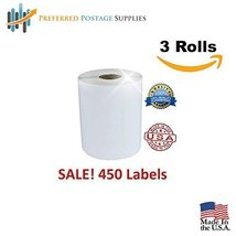 Preferred Postage Supplies (3 Rolls; 1350 Labels) 4x6 Direct Thermal Shi... - €34,35 EUR