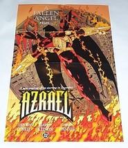 1994 DC Comics 34x22 Azrael promo poster 1:Knightfall/Knightsend/Ex Batm... - $29.69