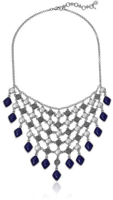 Lucky Brand Lapis Statement Necklace