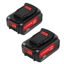 6000Mah Dcb205 Replacement For Dewalt 20V Max Xr 20V Battery 6.0Ah Dcb - $98.99