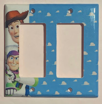 Toy Story Woody Buzz Lightyear Light Switch Power Outlet Wall Cover Plate Decor image 4
