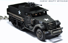 HTF KEY CHAIN HALF TRACK M3 ARMORED PERSONNEL CARRIER USMC/ARMY IDF ISRA... - $34.98