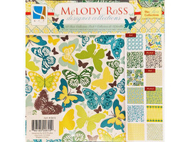 GCD Studio Melody Ross The Ava Collection 8x8 Inch Cardstock Pad #0615