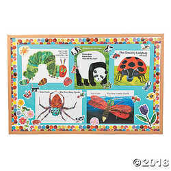 The World of Eric Carle Books Bulletin Board Set