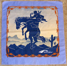 BUCKING BRONCO - Western Scarf from Coast to Coast Resorts - $14.99