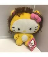 Sanrio Fiesta Toy Hello Kitty Lion Costume Plush Stuffed Animal Soft Toy 6″ - $29.99