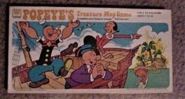 Vintage POPEYE'S TREASURE MAP GAMES Board Game 1977 - $65.00