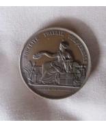 1868 France Medal, Société Nationale d'Encouragement au bien, 51mm, Bronze - $44.88