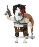California Costumes Action Hero Rambo Pets Dogs Halloween Costume PET20156 - $26.99