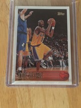 Kobe Bryant  RARE 1996 Topps Rookie Card #138 Mint US FREE shipping - $25.25