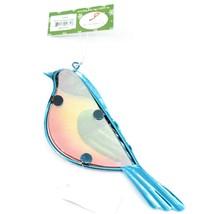 Metal & Glass Bluebird Blue Bird Hanging Suncatcher Ornament image 2