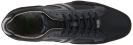 Hugo Boss Green Men's Premium Sport Fashion Sneakers Running Shoes Spacit image 15