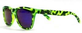 New Genuine Oakley Zebra Edition Frogskins Acid Green Retro Polarized Su... - $69.11