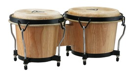 NEW - Tycoon Percussion 6 Inch & 7 Inch Ritmo Bongos - Natural Finish - $50.48