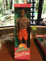 1991 Mattel Sun Sensation Steven Barbie Doll #1396 NIB - $16.99