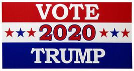 Wholesale Lot of 6 Vote 2020 Trump Red White Blue Decal Bumper Sticker - $13.88