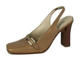 Via Spiga Femmes Chaussures Talon Classique Bride Cuir Fait en Italie Size 6.5M - $15.91