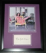 Helen Gurley Brown Signed Framed 11x14 Photo Display Cosmopolitan - $69.76