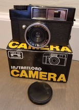Instaload Vintage Camera Uses 126 Cartridges Black In Box - $19.79